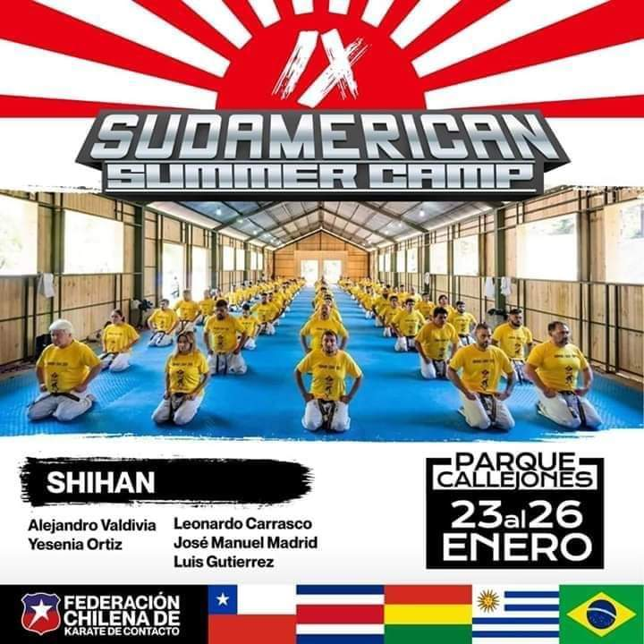 SUMMER CAMP SUDAMERICAN 2020!!!